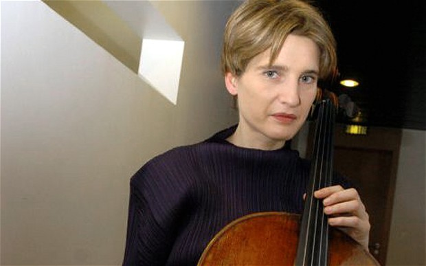 French Cellist Anne Gastinel performs with poise