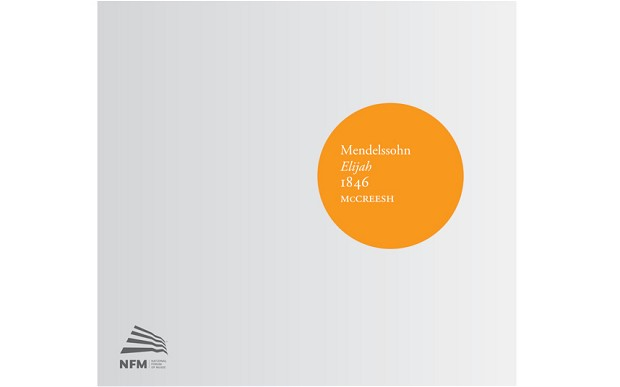 Mendelssohn: Elijah, conducted by Paul McCreesh, album cover.