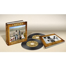 CSNY 1974 (Pure Audio Blu-Ray & Bonus DVD/Book Box Set)