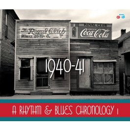 A Rhythm & Blues Chronology 1: 1940-1941 (4CD Boxset)