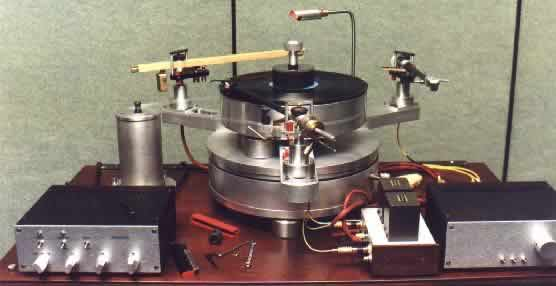 [Morsiani turntable and arm]