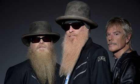 Dusty Hill, Billy Gibbons and Frank Beard – one of the world's most recognisable rock'n'roll bands
