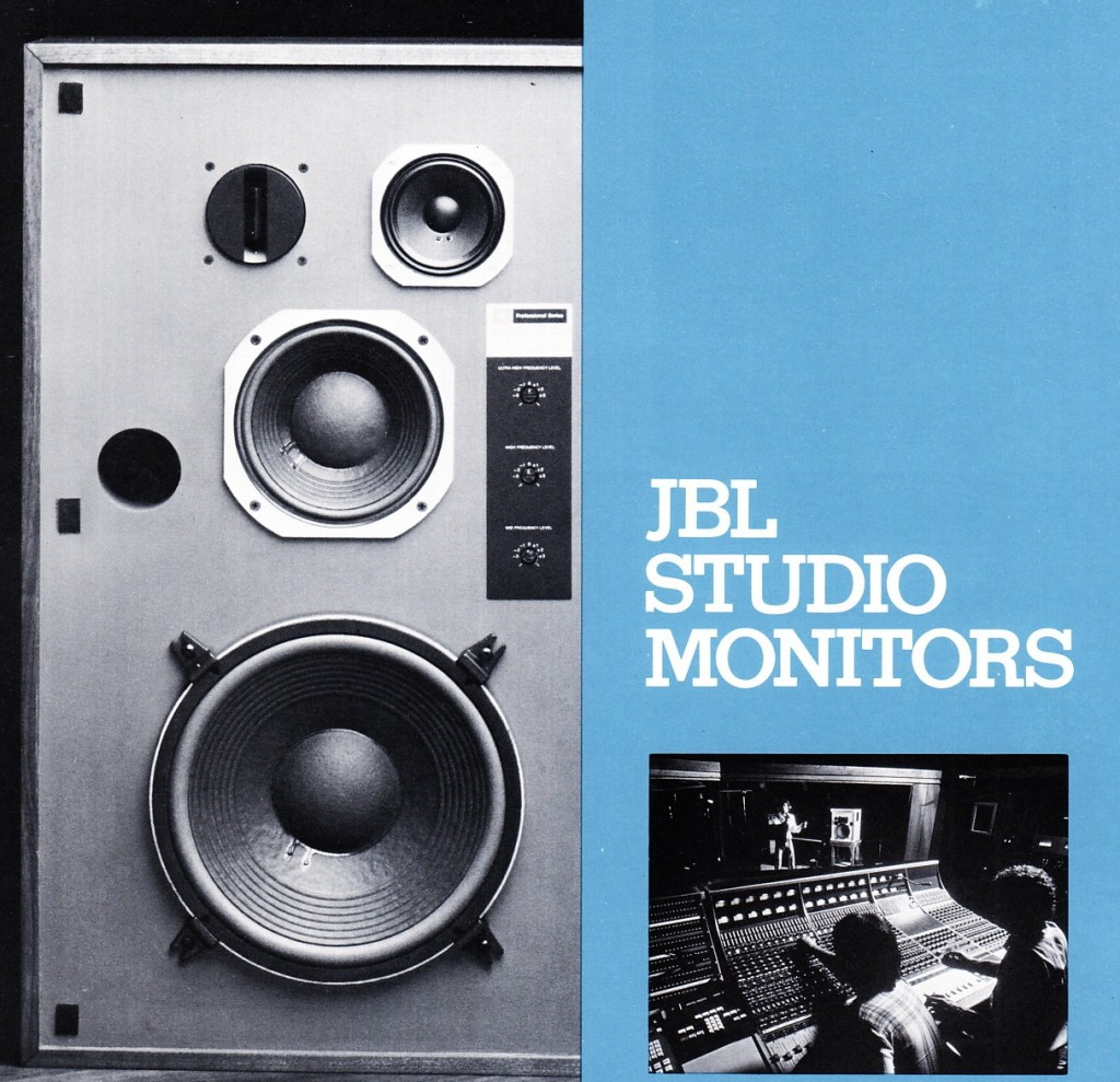 jbl proper studio monitors