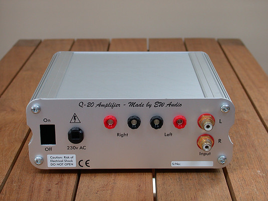 COLIN WONFOR: Q-20-P preamp and Q-20 power amp test review