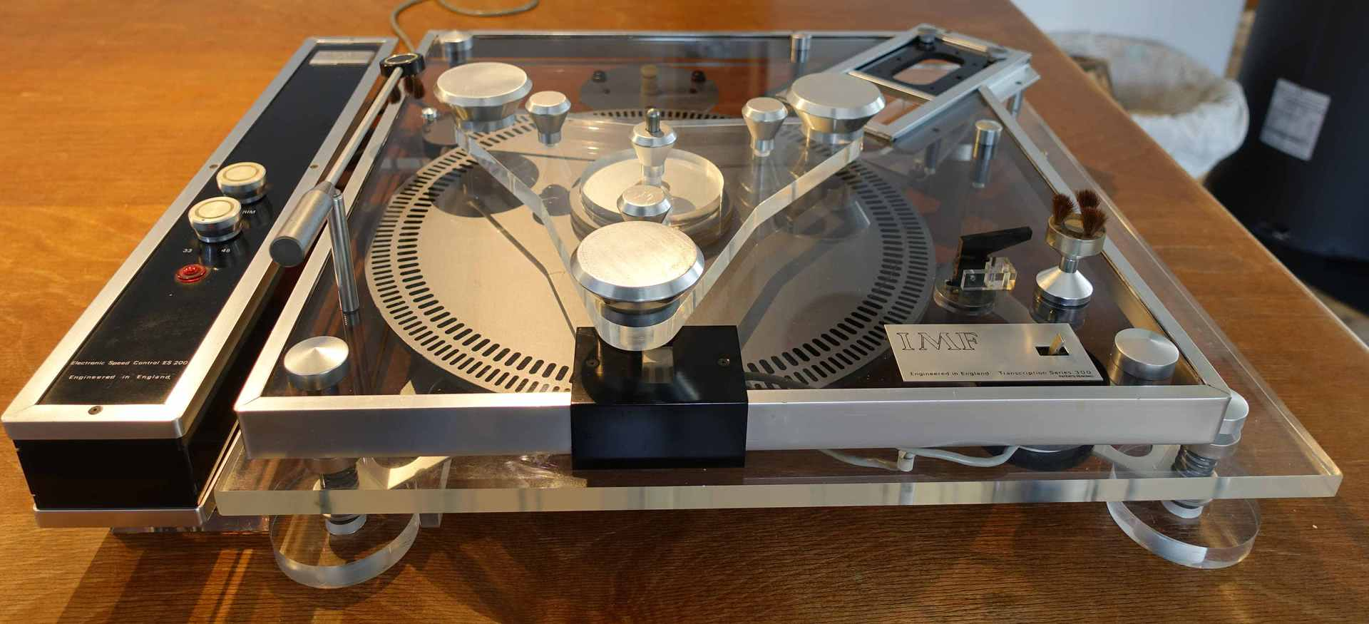 Imf The Very Rare Transcription 3000 Turntable Recent
