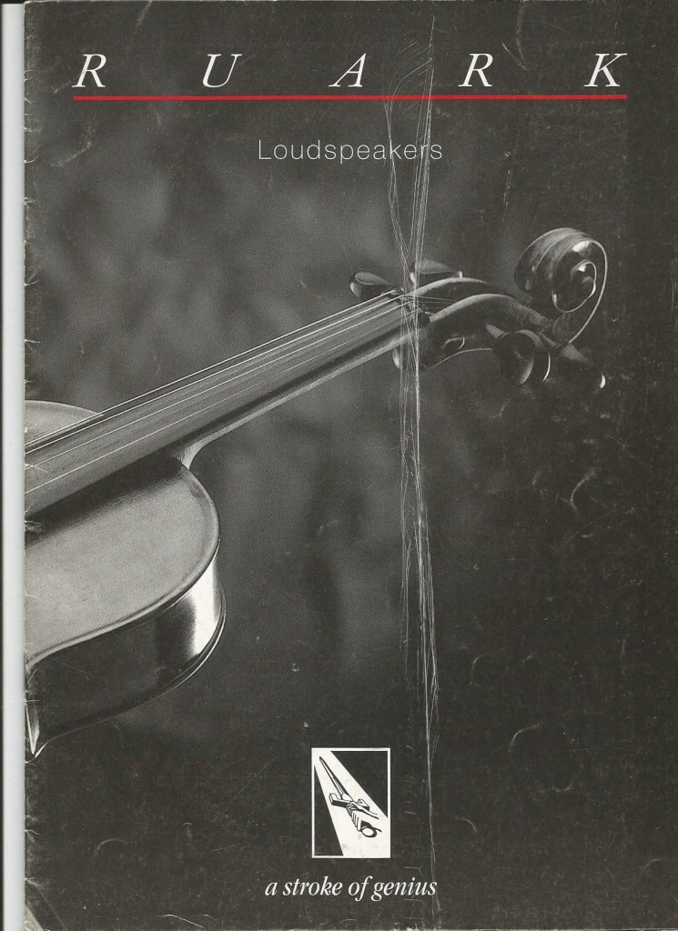 Ruark Front cover