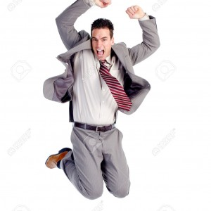 Jumping man