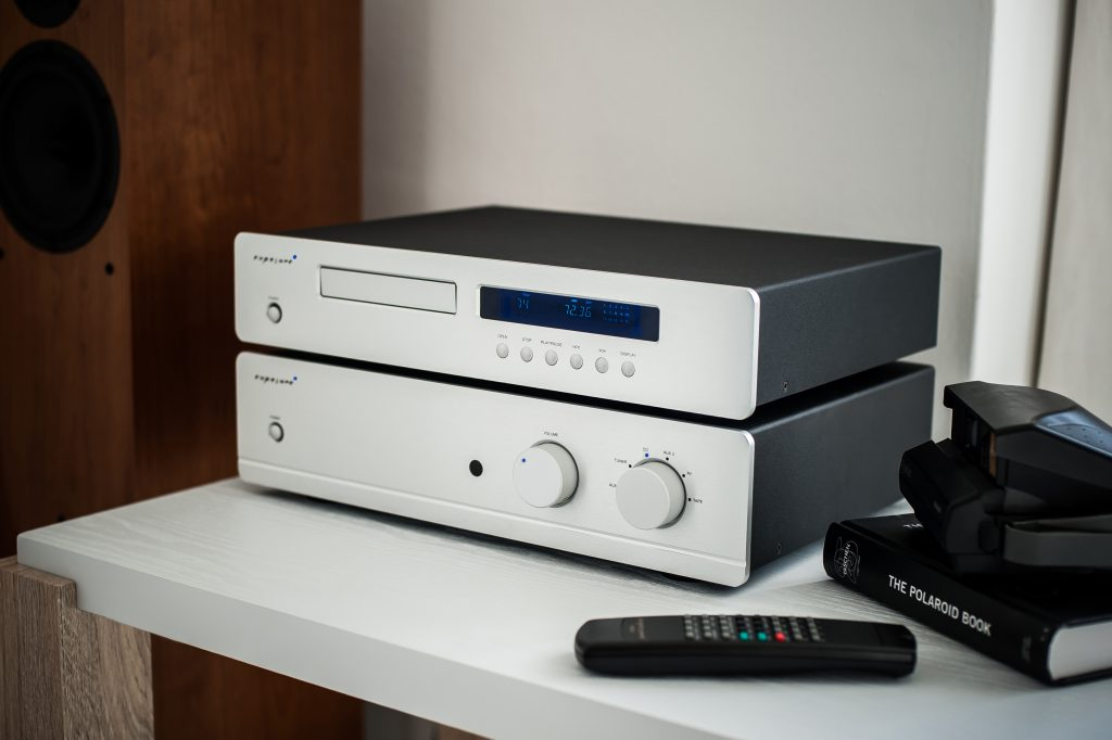 Exposure 3010S2D integrated with CD player - lifestyle - 2